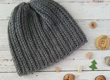 Superior Beanie   Knit Look   Free Crochet Pattern   The Unraveled Mitten