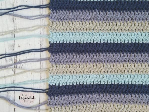 Beach Cottage Pillow | Free Crochet Pattern | The Unraveled Mitten