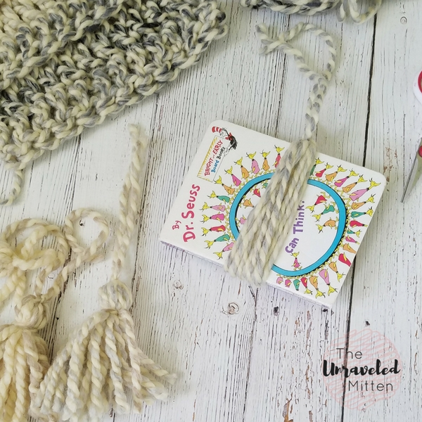 Easy Super Scarf | Free Crochet Pattern | The Unraveled Mitten | Tassel