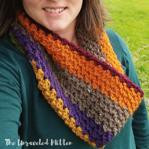 Wildwood Cowl | Free Crochet Pattern | The Unraveled Mitten