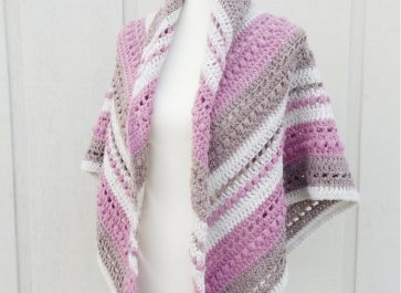 What You Love Shawl | Free Crochet Pattern | The Unraveled Mitten