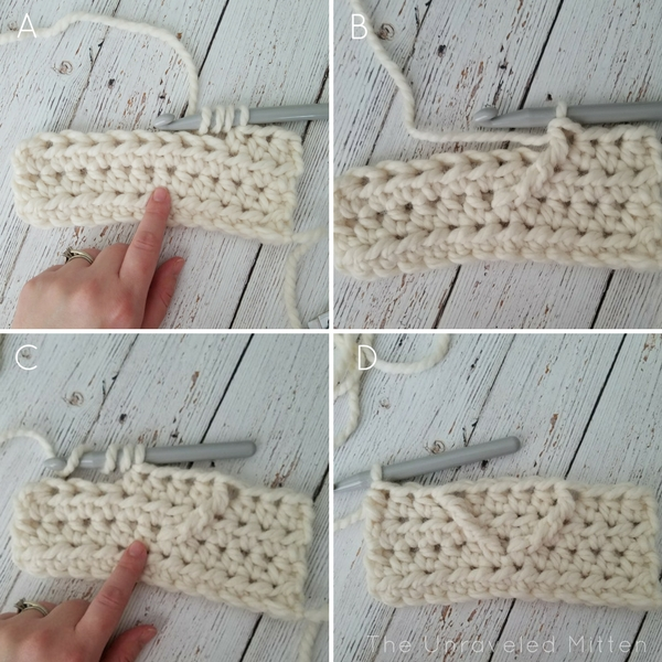 Cable Heart Tutorial 1