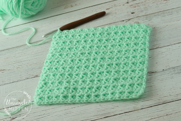 Trinity Crochet Stitch Tutorial | The Unraveled Mitten