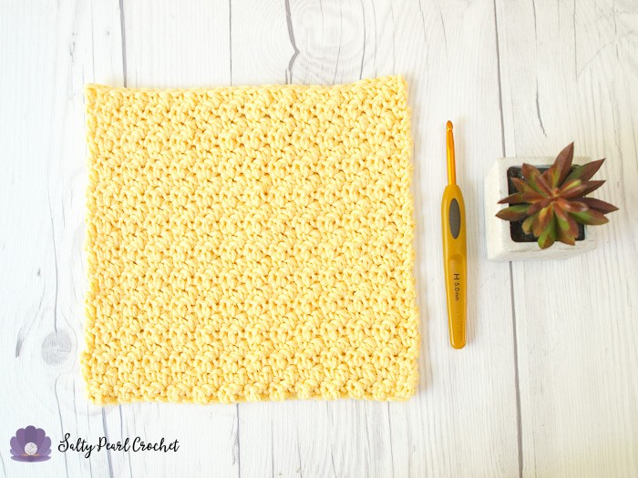 Crochet Lemon Peel Stitch Tutorial | The Unraveled MItten