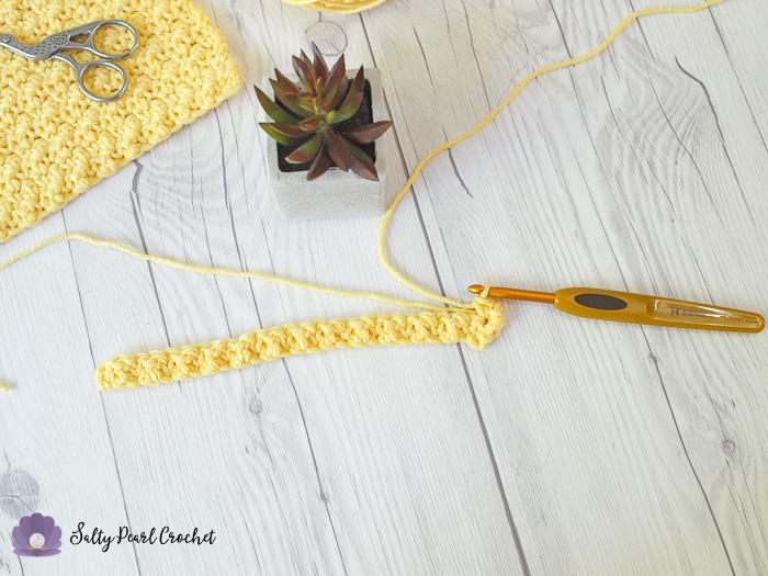 Crochet Lemon Peel Stitch Tutorial Step 7