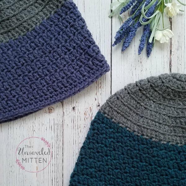 Rapids Beanie | Free crochet pattern | The Unraveled Mitten