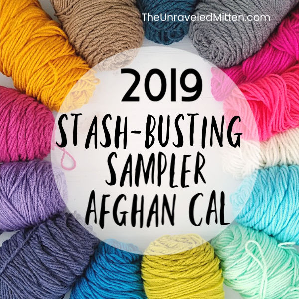 2019 Stash Busing Sampler Afghan CAL | The Unraveled Mitten