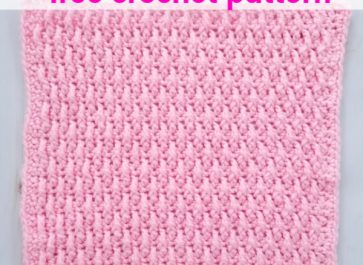 Alpine Crochet Stitch Tutorial   The Unraveled Mitten   Also, known as the raised ripple stitch, the texture on this one is AMAZING. If you are a texture lover then this crochet stitch is right up your alley.   2019 Stash Busting Sampler Afghan Crochet Along.