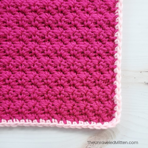 Learn to crochet the Grit Stitch | The Unraveled Mitten | Free Crochet Pattern | Easy Crochet Stitch