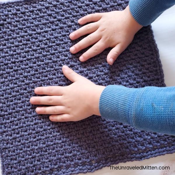 Linen Stitch   Free Crochet Pattern   The Unraveled Mitten