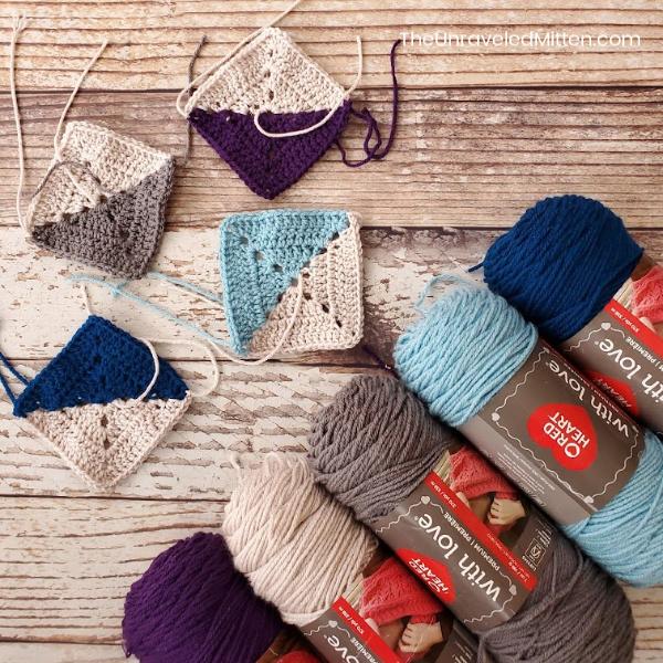 Winter Waves Crochet Along | Free Crochet Pattern | The Unraveled Mitten