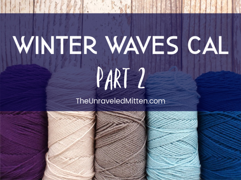Winter Waves Throw Blanket CAL | The Unraveled Mitten | Free Crochet Pattern