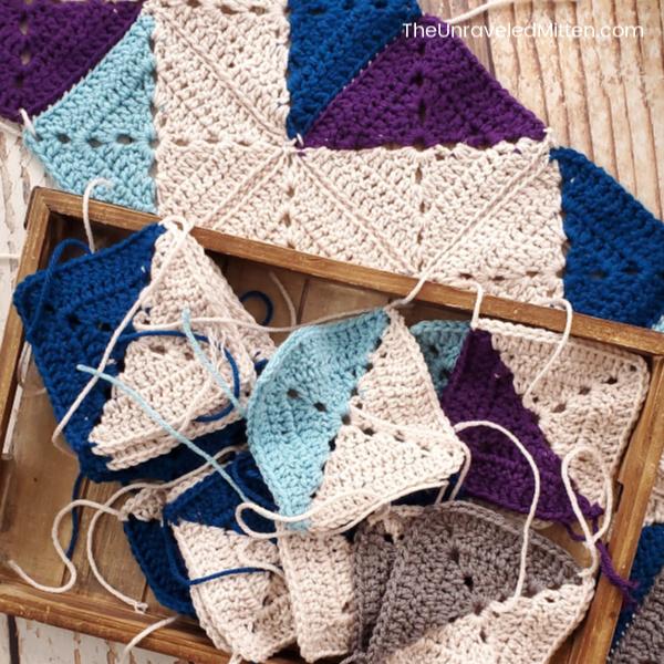 Winter Waves Crochet Along | The Unraveled Mitten