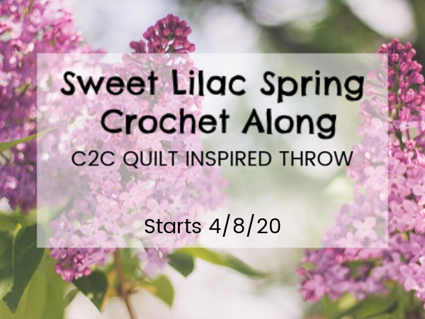 Sweet Lilac Quilt Inspired C2C Crochet Along