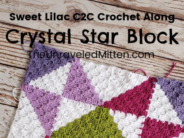 Corner to Corner Quilt Square Crochet Along
