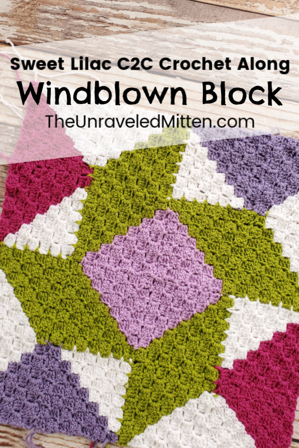 Sweet Lilac CAL part 3! Learn a really fun and challenging join as you go corner to corner technique and make a quilt inspired crochet blanket in the process.