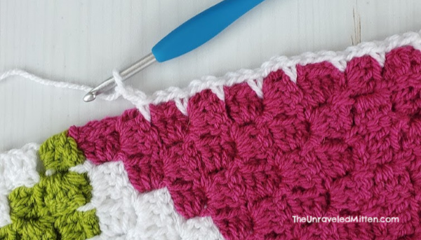 C2C Simple Crochet Border
