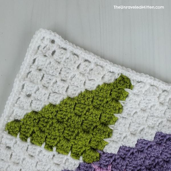 C2C Easy Crochet Border