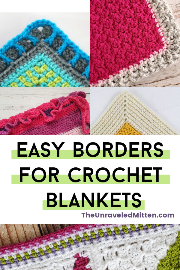 Easy Borders for Crochet Blankets