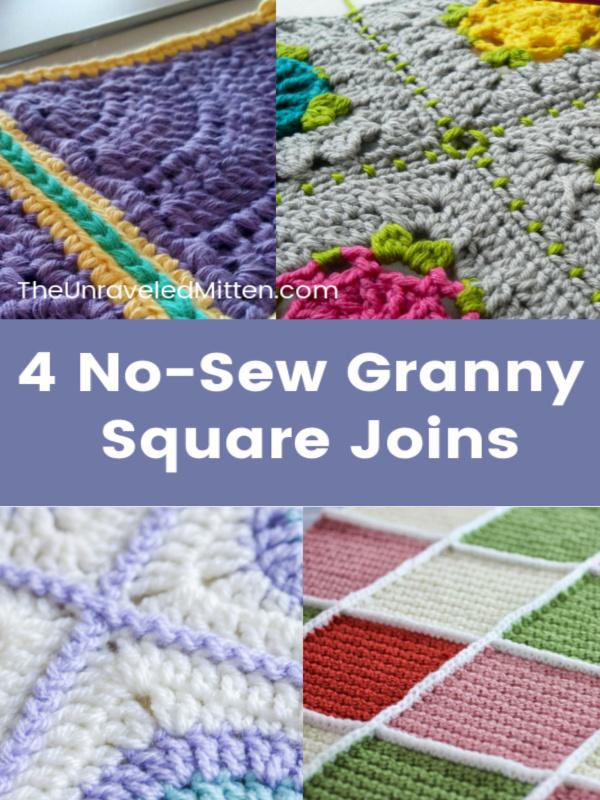 Crochet Blanket Joining Squares
