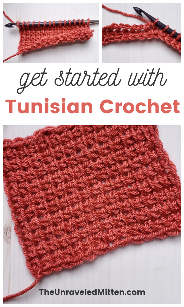This beginner's guide to Tunisian crochet will tell you everything you need to know to get started including a tutorial for the Tunisian simple stitch.