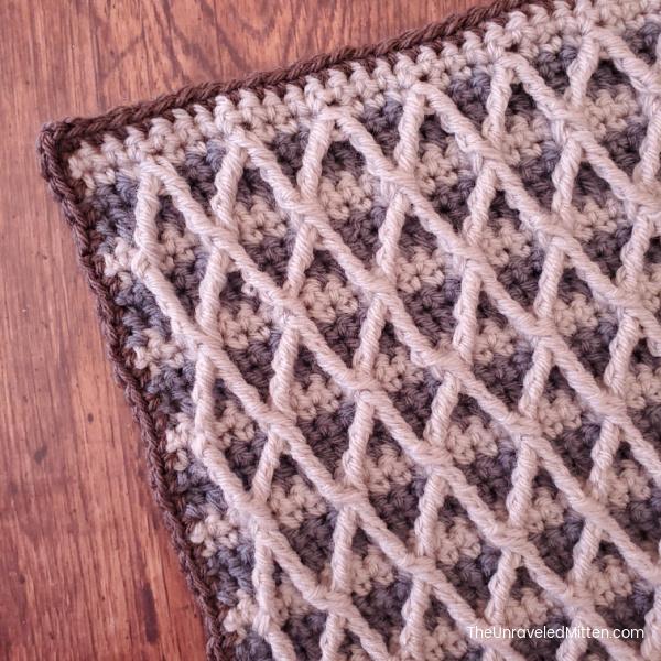 2021 Stash Busting Crochet Along Block #4 Designed by RV Designs