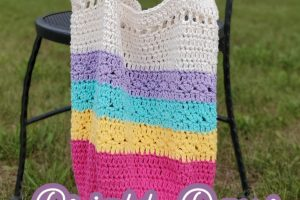 This crochet market bag is one you'll use over and over again! Make this easy crochet bag pattern today.