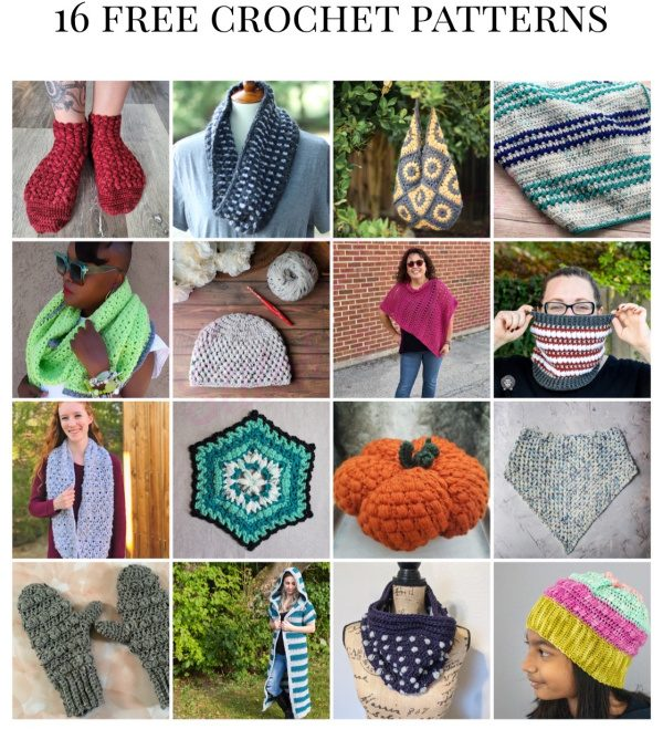Check out these free crochet patterns featuring the Puff stitch!